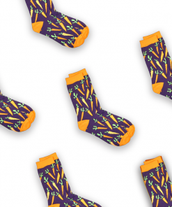 Carrots sock tile