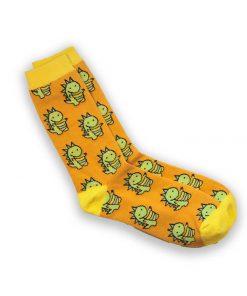 Dinosaur sock tile